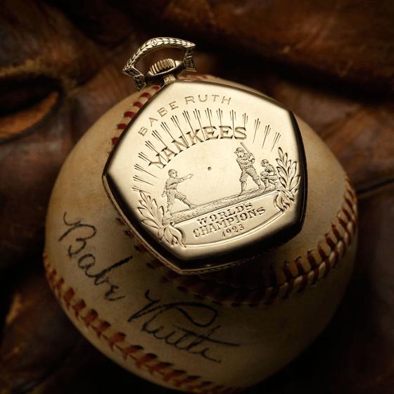 Babe Ruth Watch 5 - 8 ساعت گران قیمتی که در مزایده ها به فروش رسید