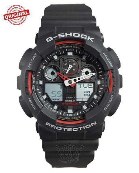 ساعت مچی G-shock GA-100-1A4DR-01