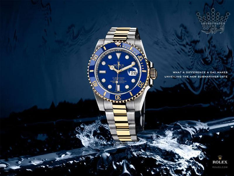 rolex submariner 02 - معرفی ساعت ساب مارینر رولکس