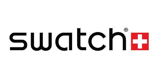 لوگوی شرکت سازنده ساعت مچی سواچ