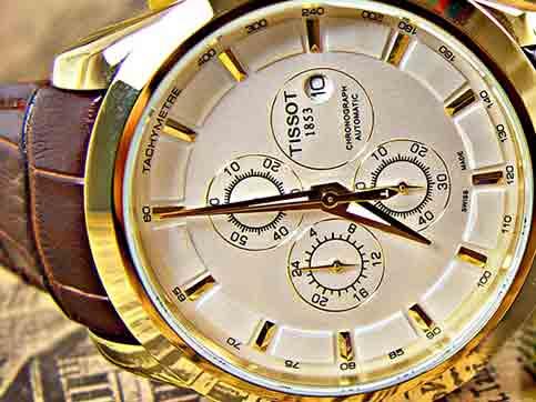 ساعت مچی تیسوت مدل 412 سایت اشرافی