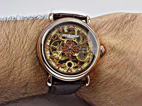ساعت مچی موتورباز پتک فلیپ مدل 6439 سایت اشرافی