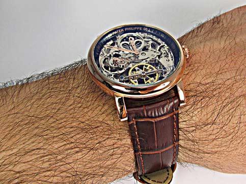 ساعت مچی موتورباز پتک فلیپ مدل 6852 سایت اشرافی