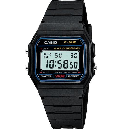 ساعت Casio F-91W