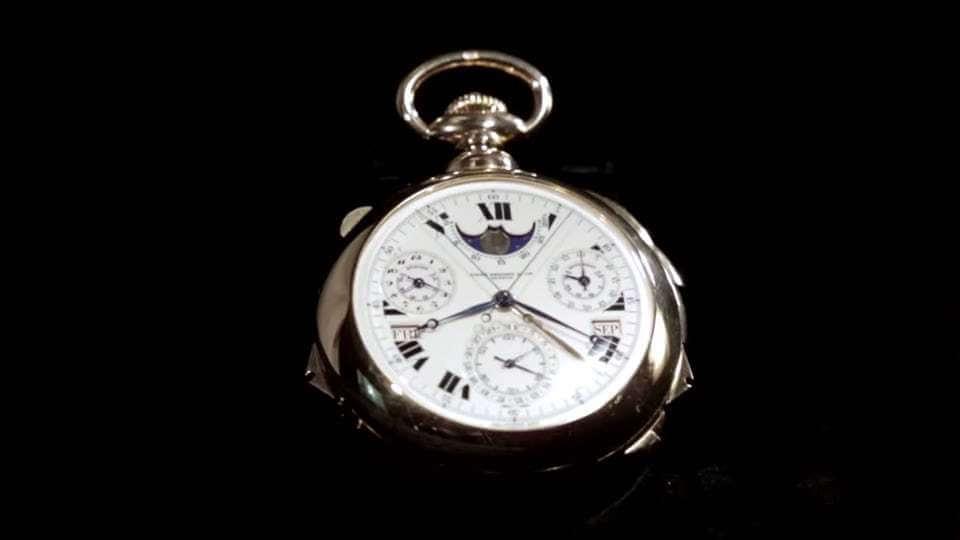 ساعت پتک فیلیپ Supercomplication