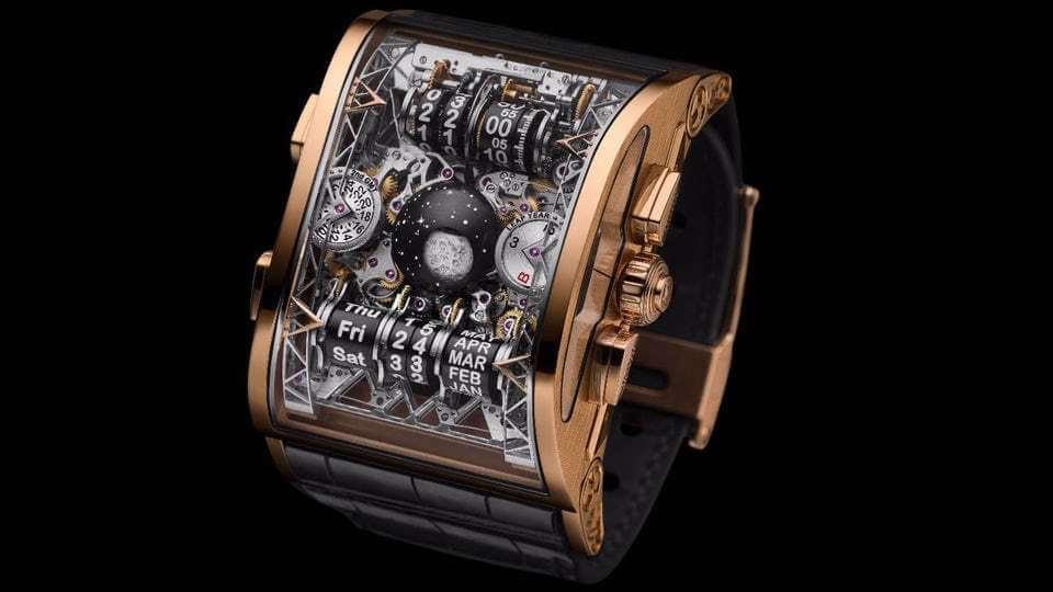 ساعت Hysek Colossal mechanical digital