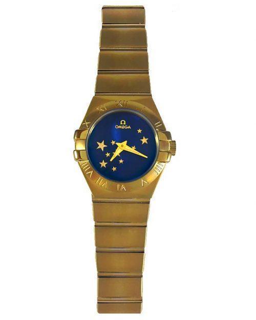 ساعت مچی امگا زنانه ستاره دار