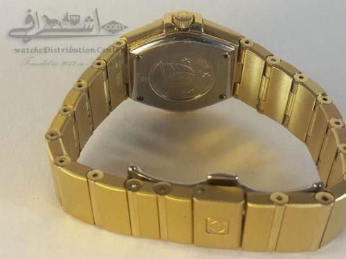ساعت امگا طلایی