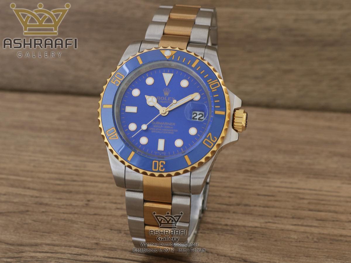 ساعت رپلیکای رولکس ساب مارینر آبی Rolex Submariner B