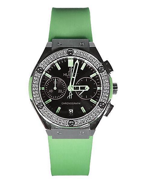 ساعت سبز رنگ هابلوت