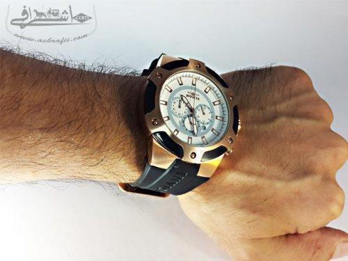 نمای روی دست ساعت مردانه اینویکتا