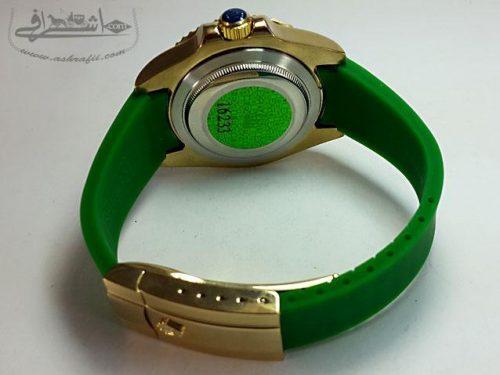ساعت مردانه رولکس اویستر سبز رنگ