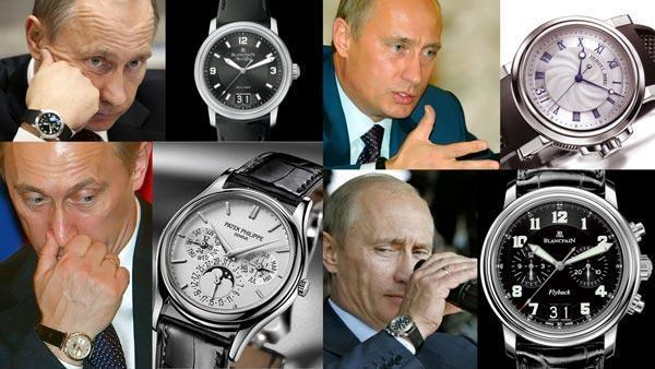 مجموعه ساعت مچی ولادیمیر پوتین
