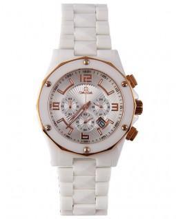 ساعت مچی امگا سرامیکی سفید