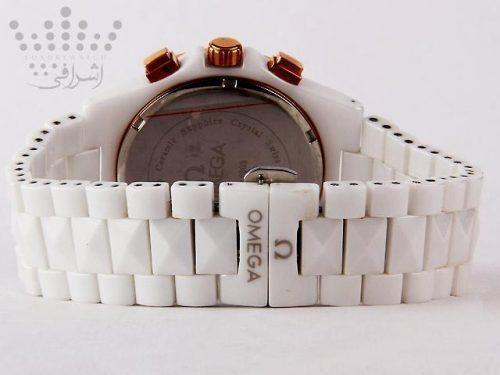 ساعت امگا سرامیکی سفید-04