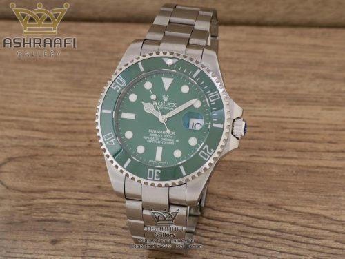 فروش ساعت رولکس ساب مارینر استیل سبز