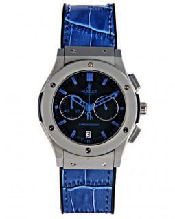 ساعت مچی آبی رنگ هابلوت