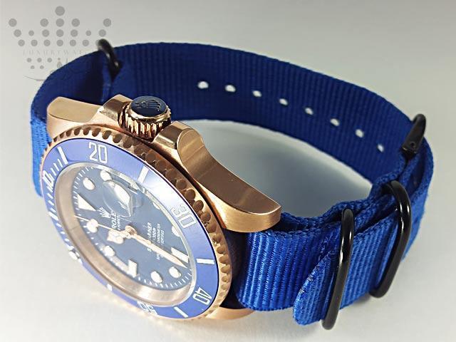 ساعت رولکس بند پارچه ای-08