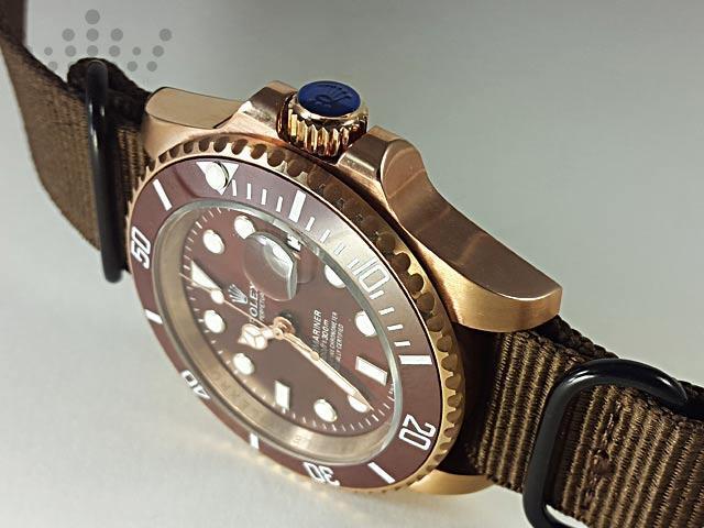 ساعت رولکس بند پارچه ای-09