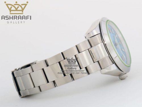 فروش ساعت رولکس صفحه سبز آبی مدل میلگاس ROLEX Milgauss-B1