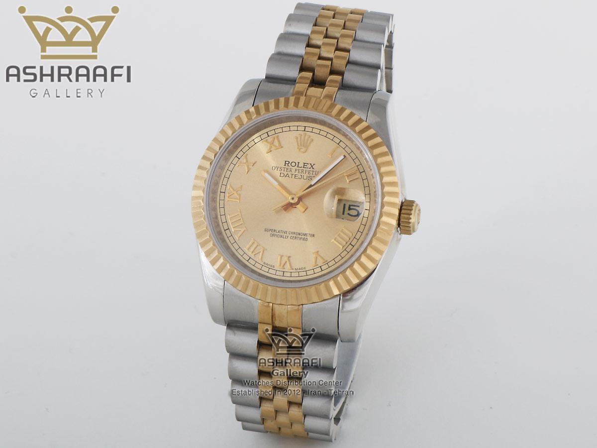 ساعت رولکس های کپی موتور سویس Rolex Datejust 84