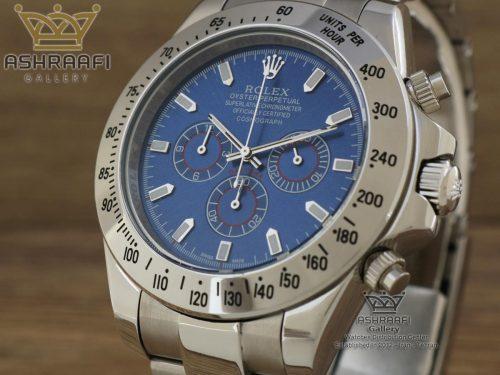 ساعت صفحه سورمه ای رولکس دیتونا Rolex Daytona D18