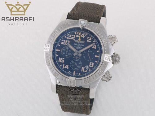 ساعت های کپی درجه یک برایتلینگ بند برزنت Breitling A13370