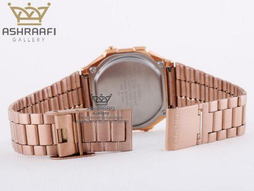 ساعت مسی رنگ کاسیو نوستالژی Casio A168WE