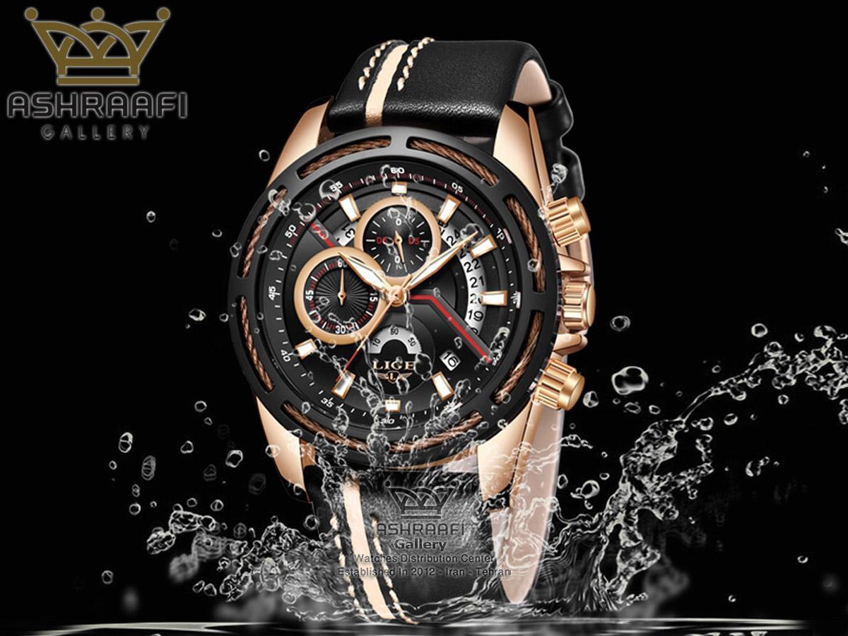 فروش ساعت لیگ فول تایم Lige 9880D