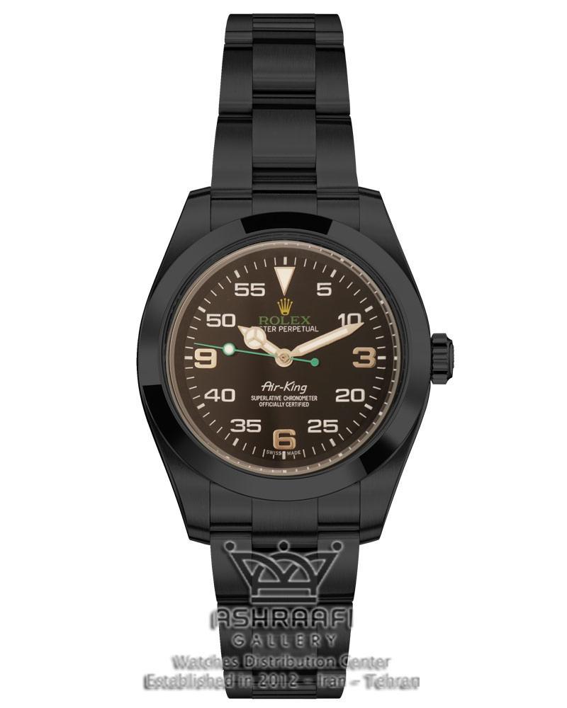 ساعت مشکی رولکس ایرکینگ ROLEX Air King 110SK