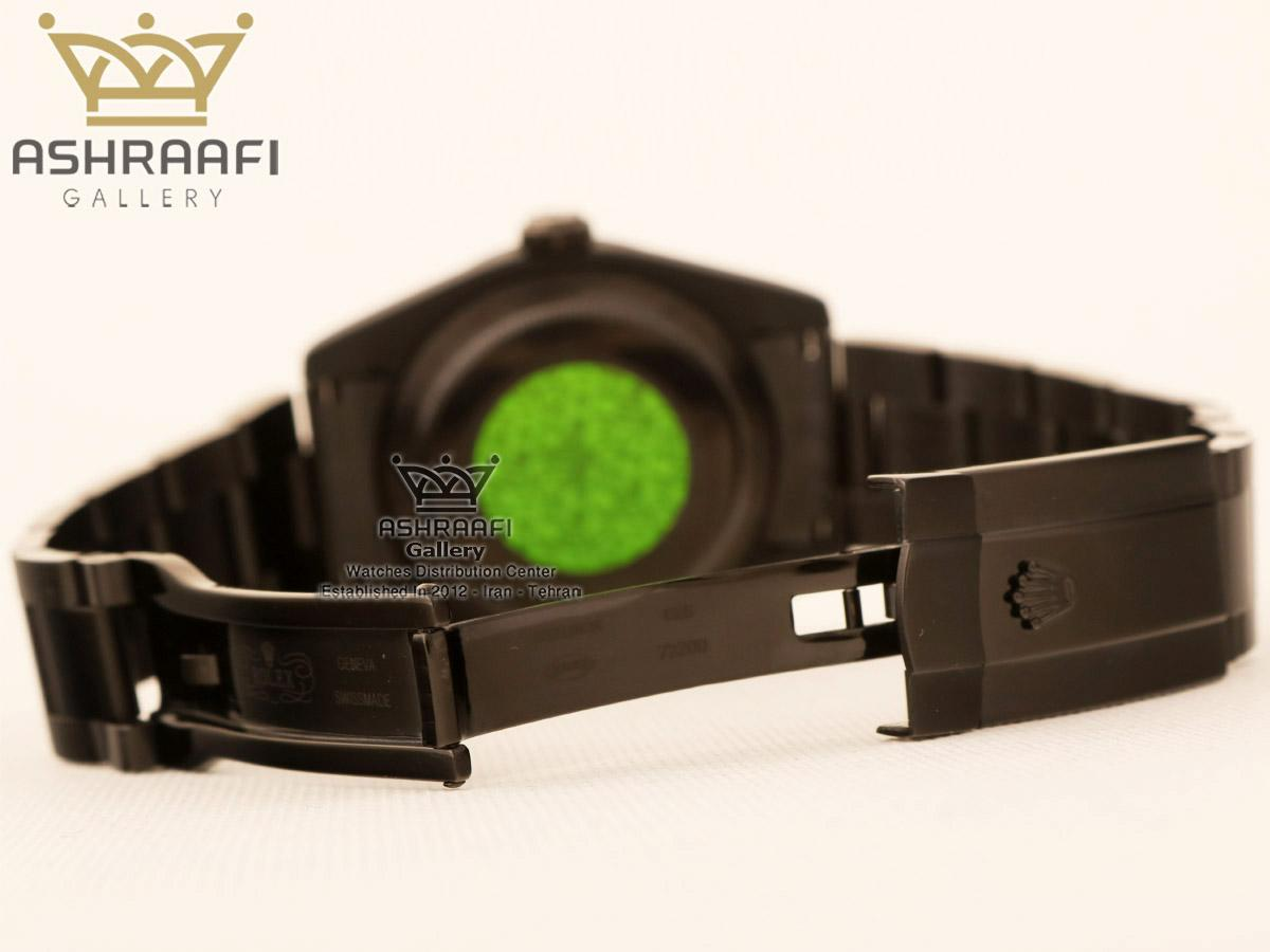 قفل ساعت مشکی رنگ میلگاس ROLEX Milgauss K2