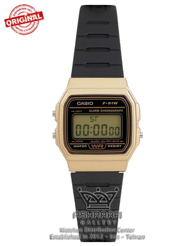 ساعت اصلی کاسیو مدل Casio F-91WM-9ADF