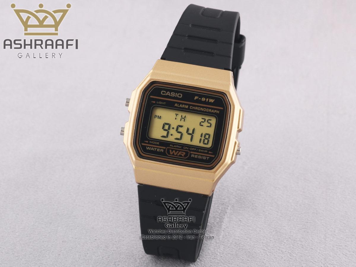 فروش ساعت اورجینال کاسیو Casio F-91WM-9ADF