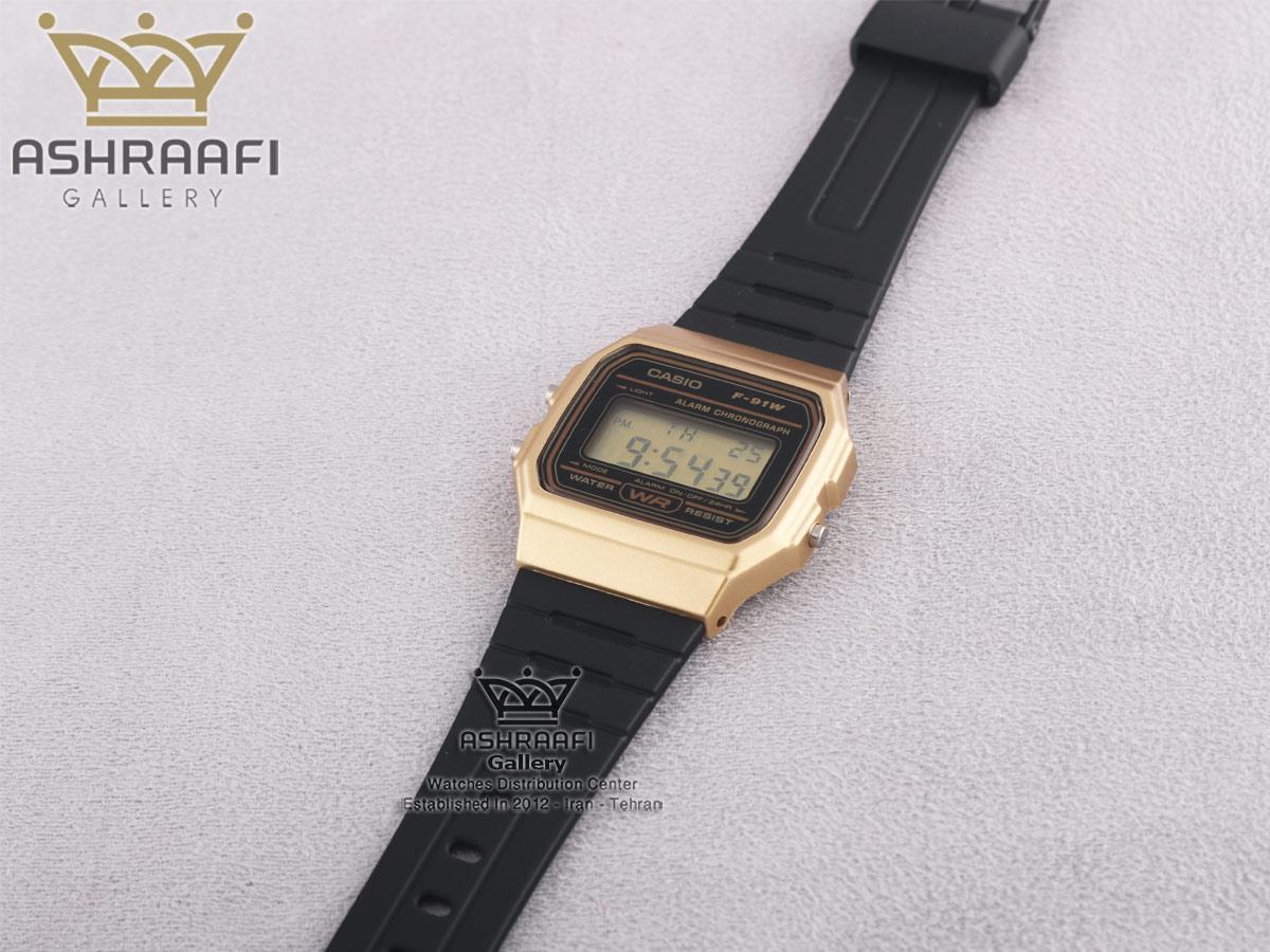 ساعت اصل کاسیو با قیمت Casio F-91WM-9ADF