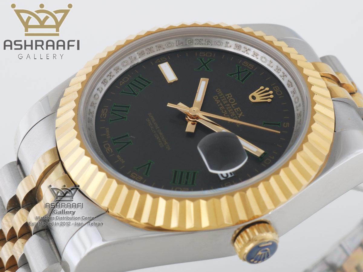 ساعت رولکس های کپی صفحه خاکستری مدل 39G
