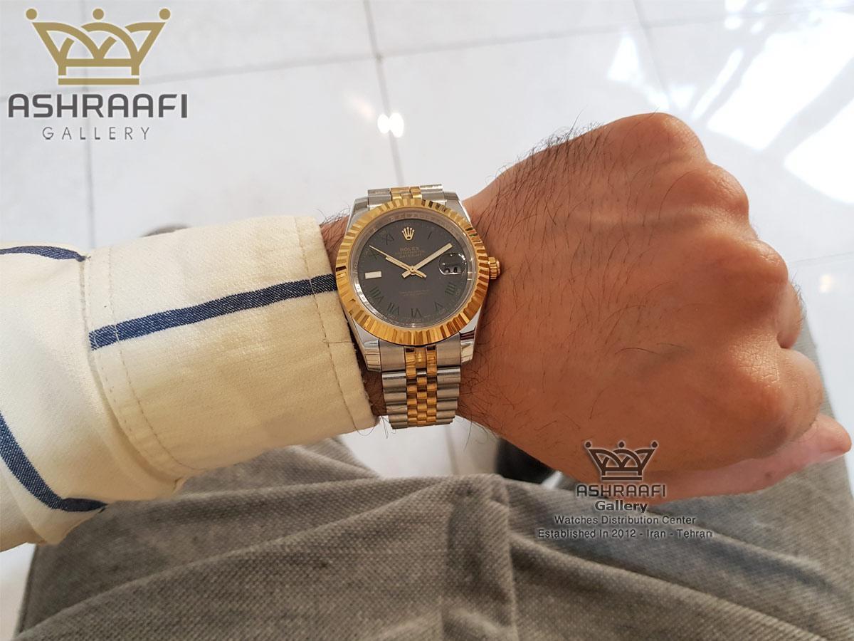 عکس روی دست ساعت رولکس مدل 39G