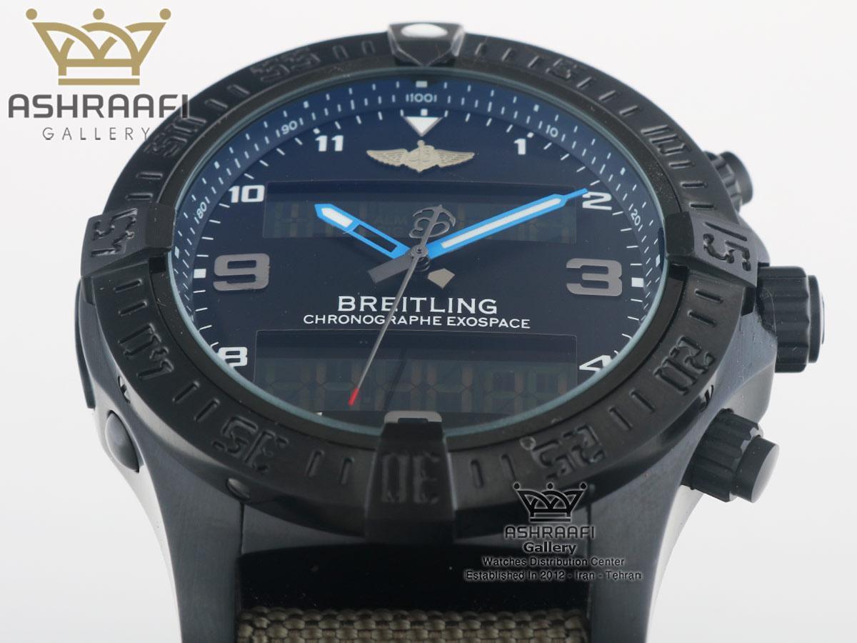 ساعت دیجیتال برایتلینگ رپلیکا Breitling Exospace B55