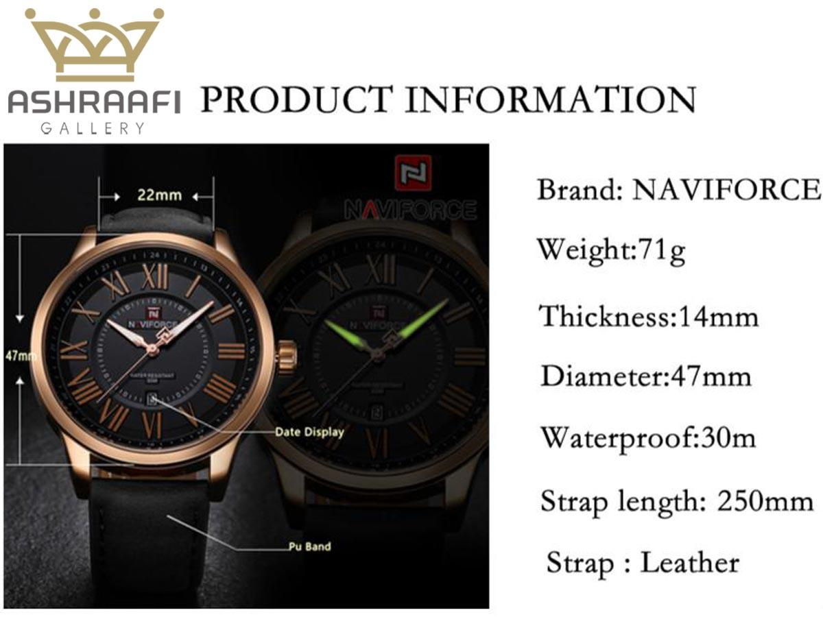 مشخصات ساعت Naviforce NF9126M