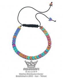 دستبند چند رنگ سنگی Bracelet 1856FC