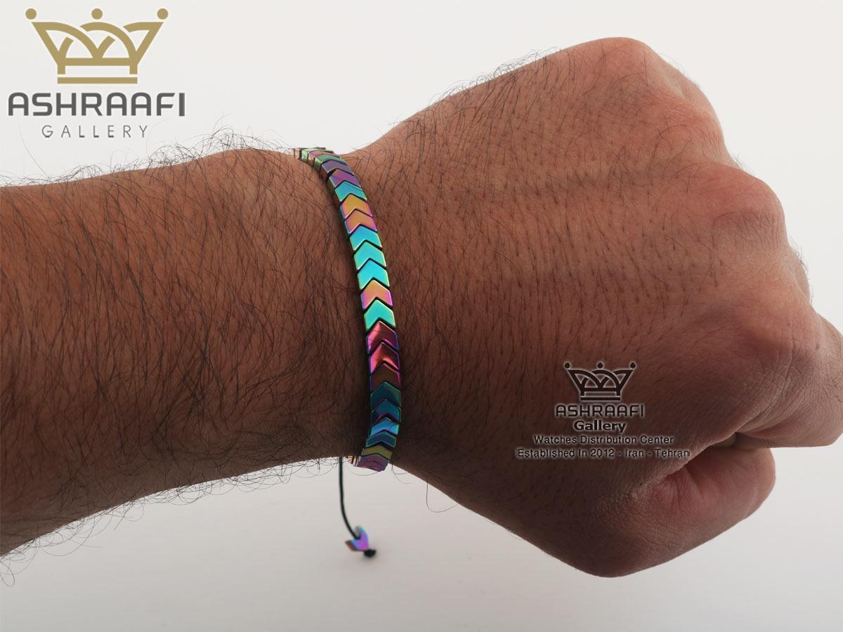 فروش دست بند سنگی پشت ساعتی Bracelet 1856FC