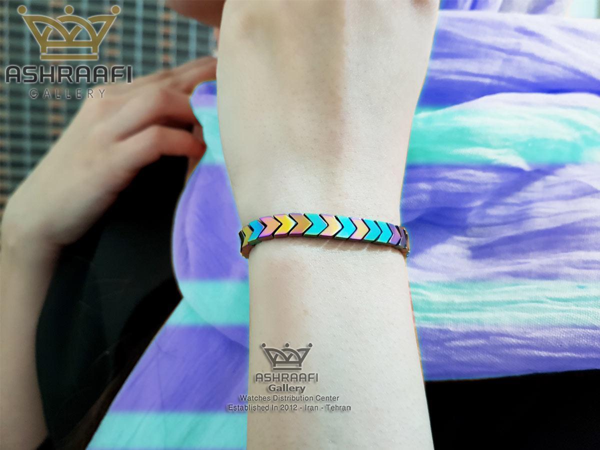 فروش دستبند سنگی چند رنگ Bracelet-1856FC-04
