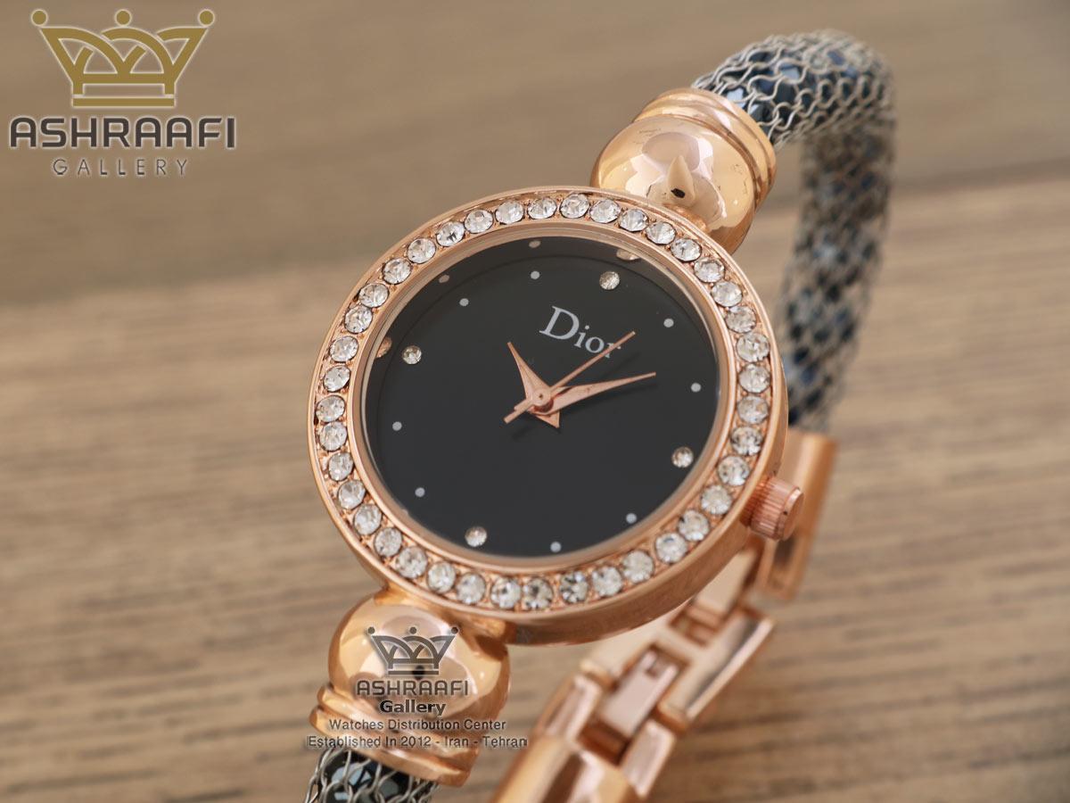 فروش ساعت نگین دار دیور Dior 0227