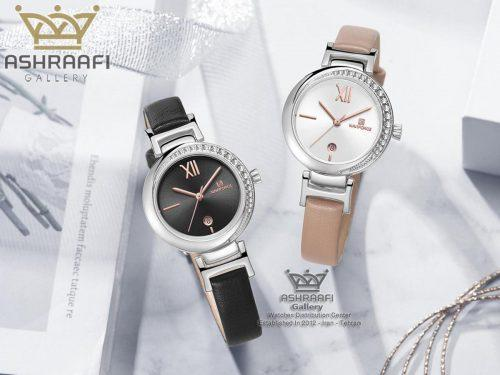 ساعت زنانه اورجینال ارزان قیمت Naviforce NF5007L