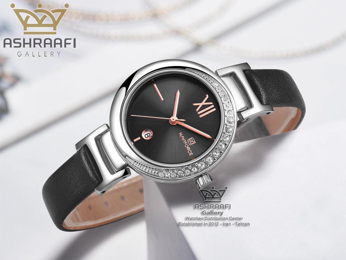 ساعت مشکی ناوی فورس مدل Naviforce NF5007L