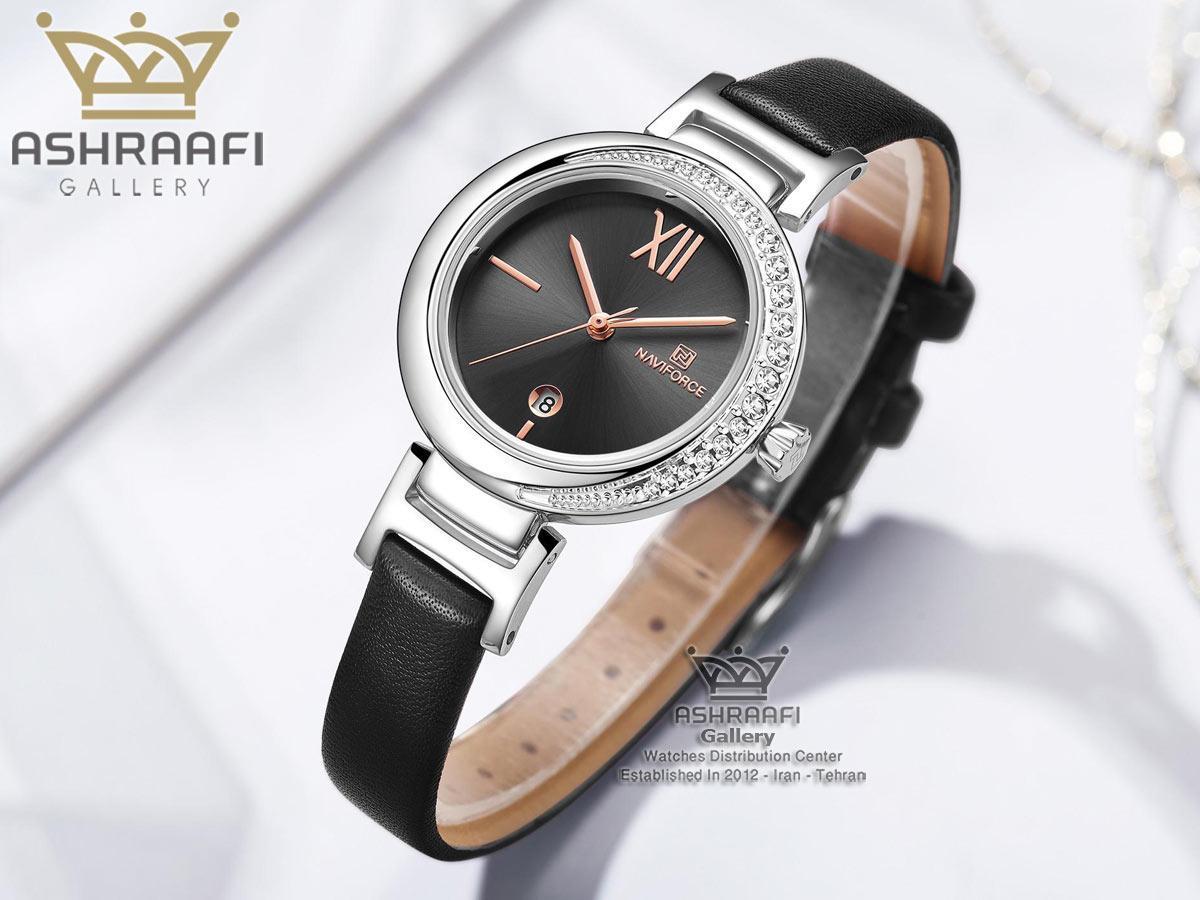 فروش ساعت مشکی ناوی فورس مدل Naviforce NF5007L