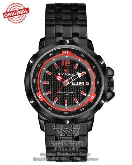فروش ساعت اورجینال قاب درشت Naviforce NF9073M