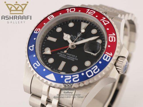 فروش ساعت رولکس ROLEX Gmt-Master II-Pepsi