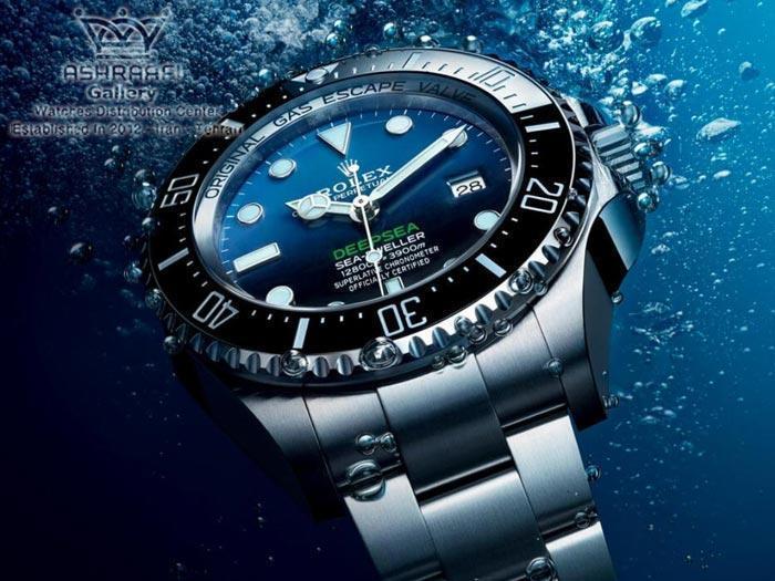 ساعت رولکس دیپسی اولین و بهترین ساعت ضد آب جهان