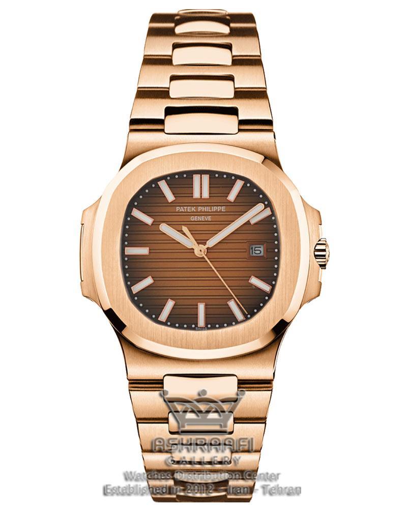 ساعت پتک فیلیپ صفحه شامپاینی Patek Philippe Nautilus RR90