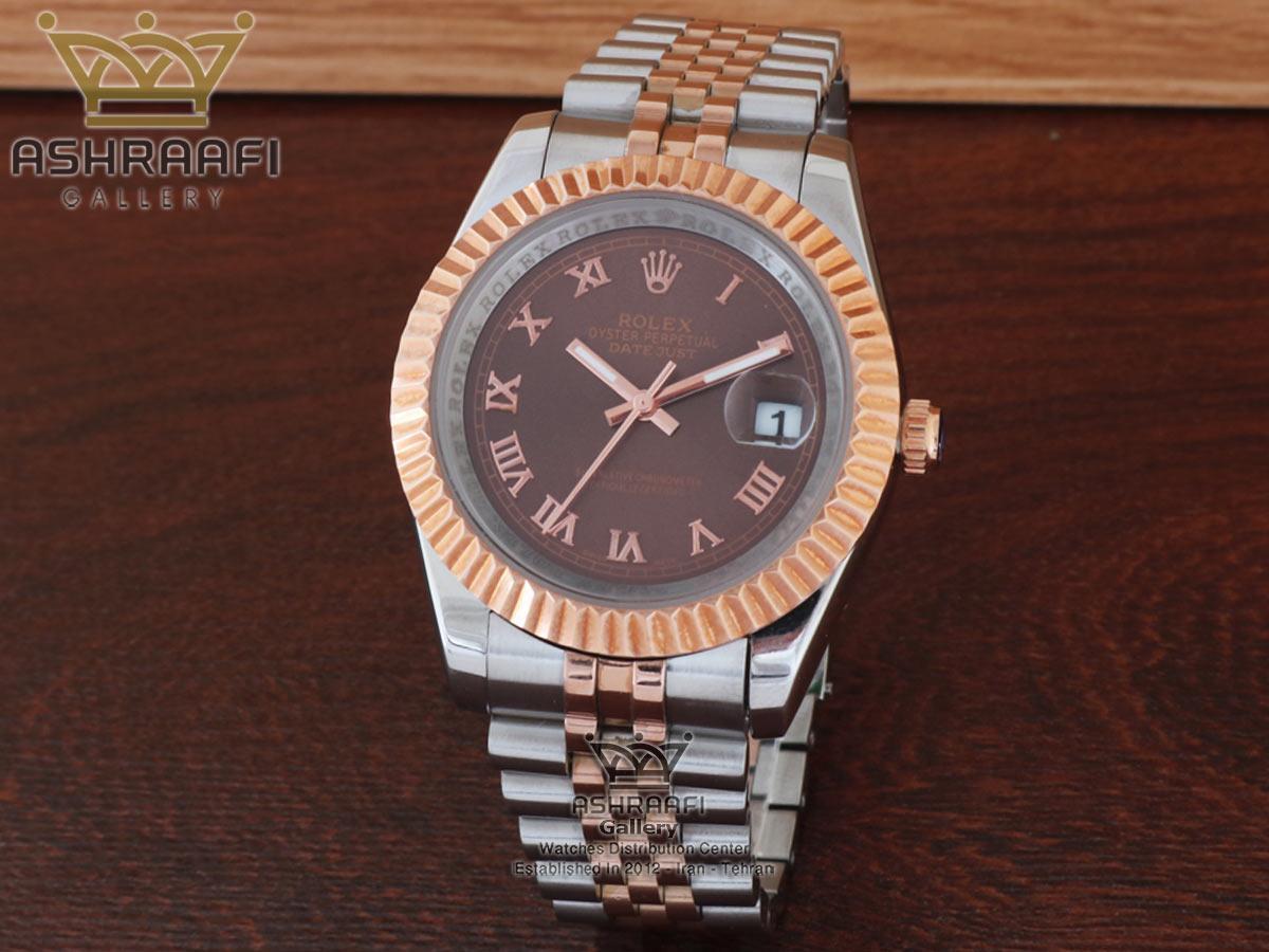 فروش ساعت صفحه شکلاتی رولکس Rolex datejust Sh2D